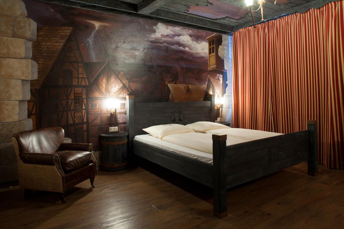 Dämonenzimmer im Abenteuerhotel