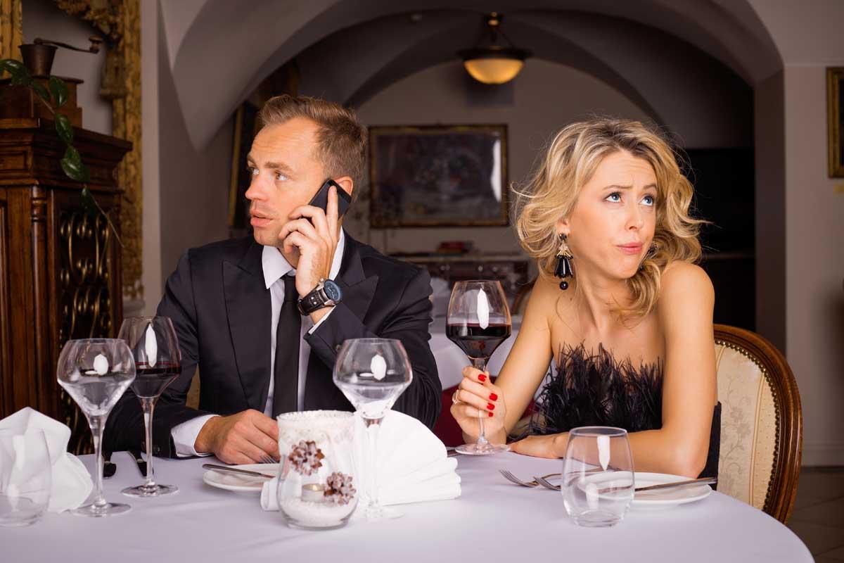 Erstes Date Smartphone