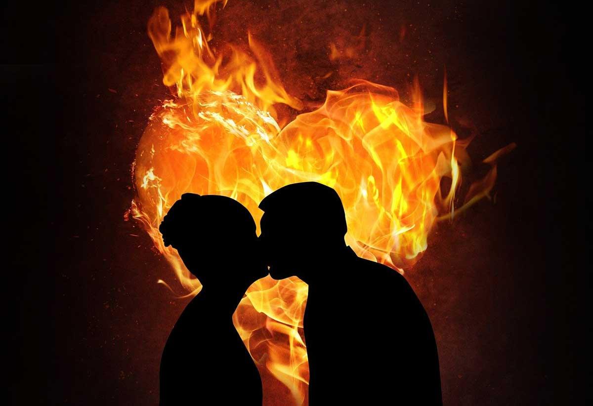Feuerherz Paar