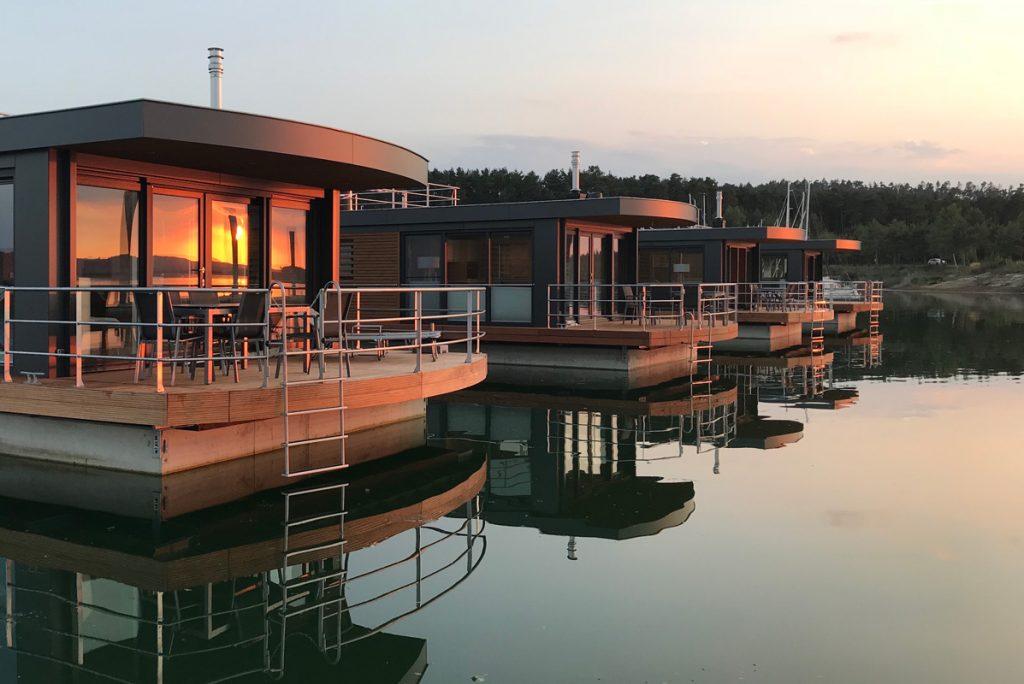 Floating Village Brombachsee: Get-away der Extraklasse
