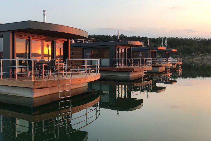 Floating Village Brombachsee Außenansicht