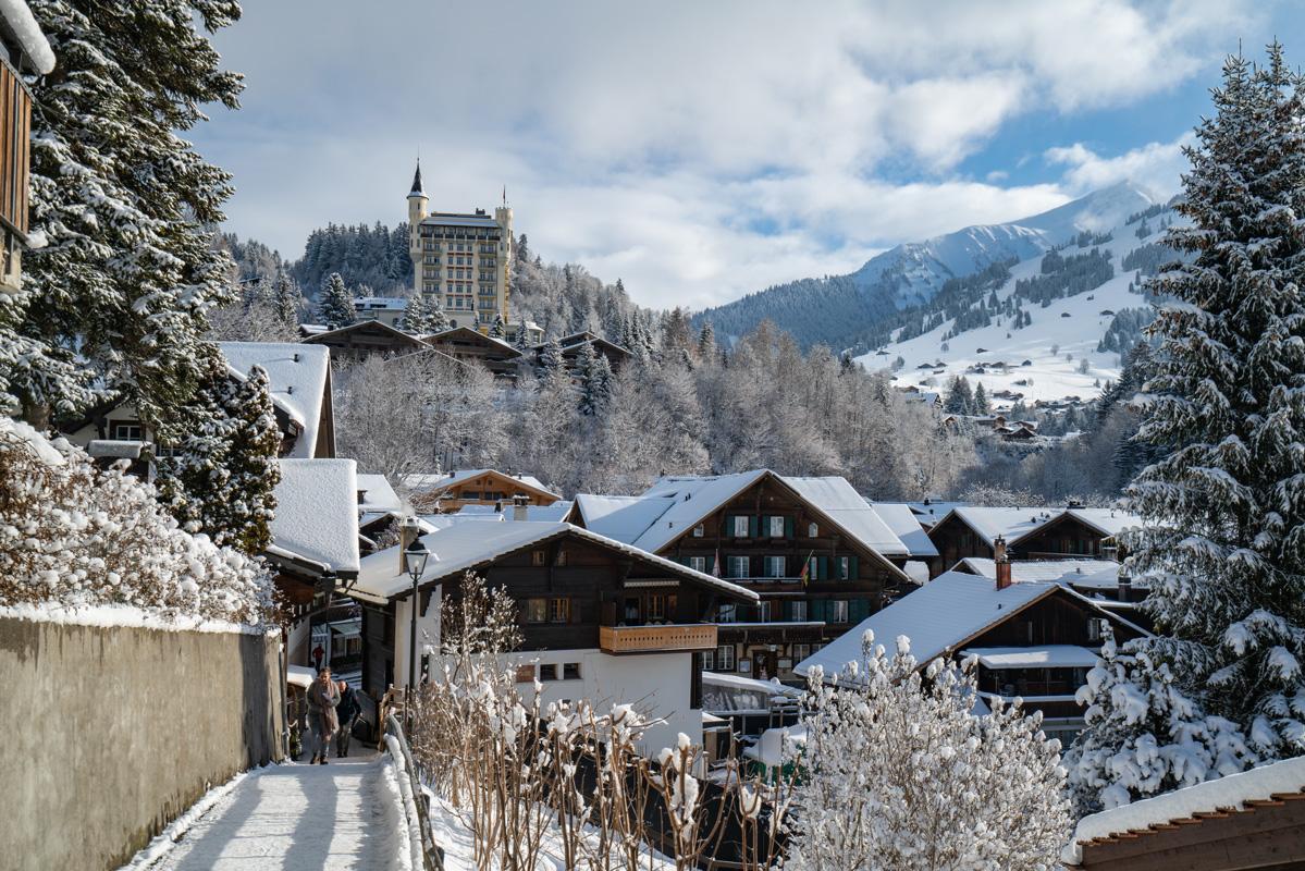 Gstaad - Wintersportorte