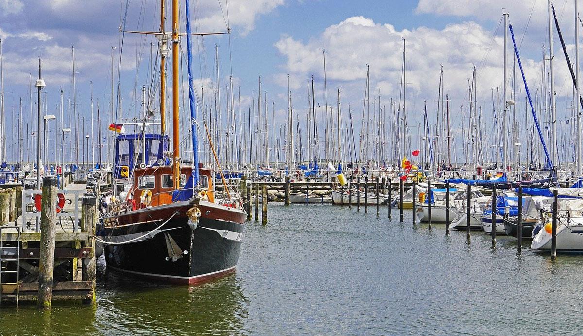 Hafen Schle