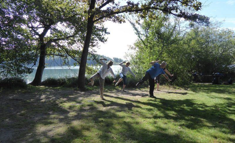 Qigong Übungen am Mindelsee