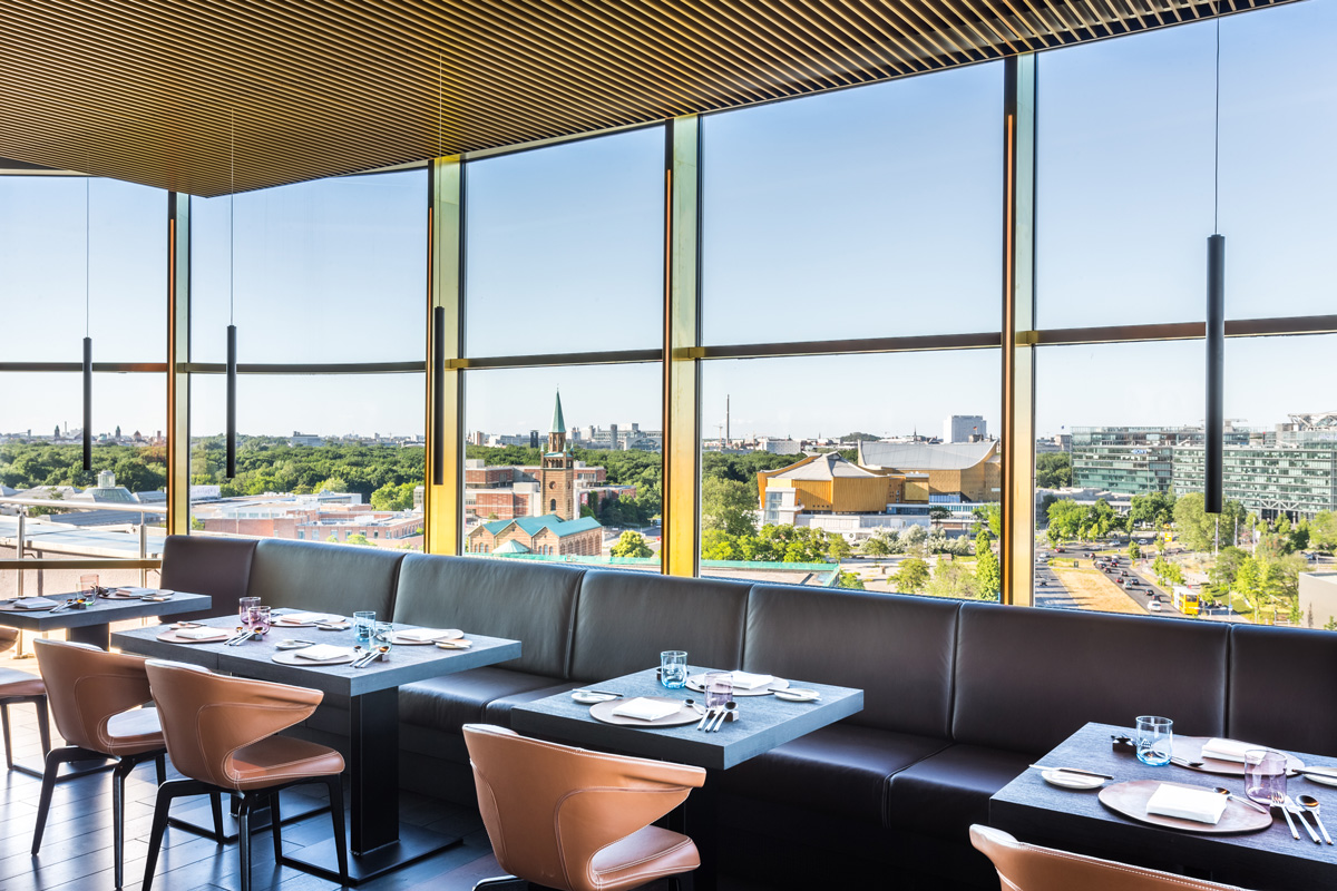Innenansicht Restaurant Golvet