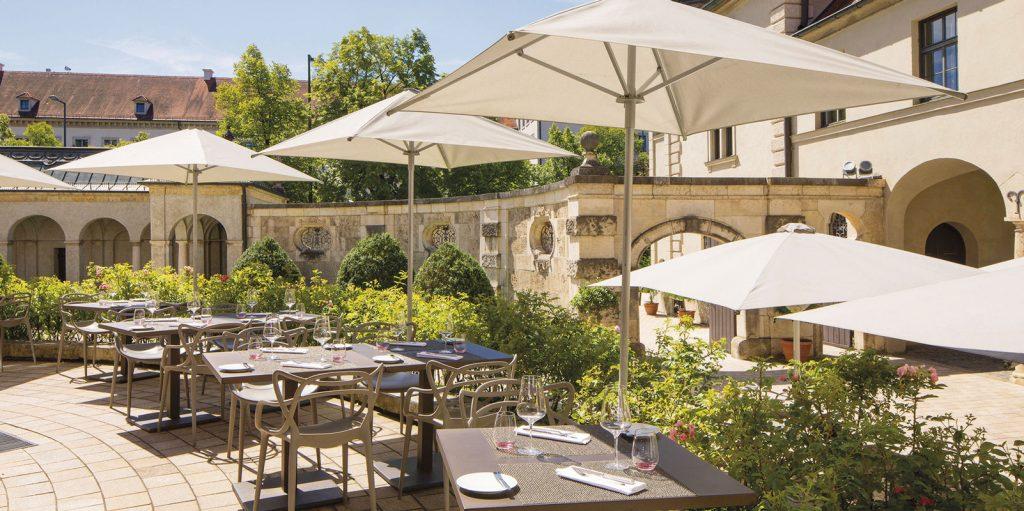 Terrasse Restaurant Museum München