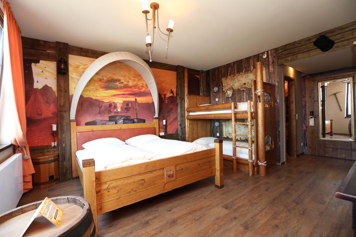 Westernzimmer im Abenteuerhotel