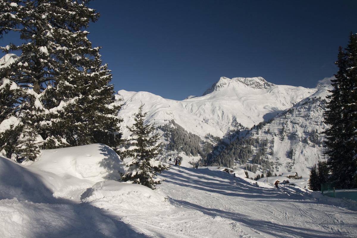 Winter am Arlberg - Wintersportorte