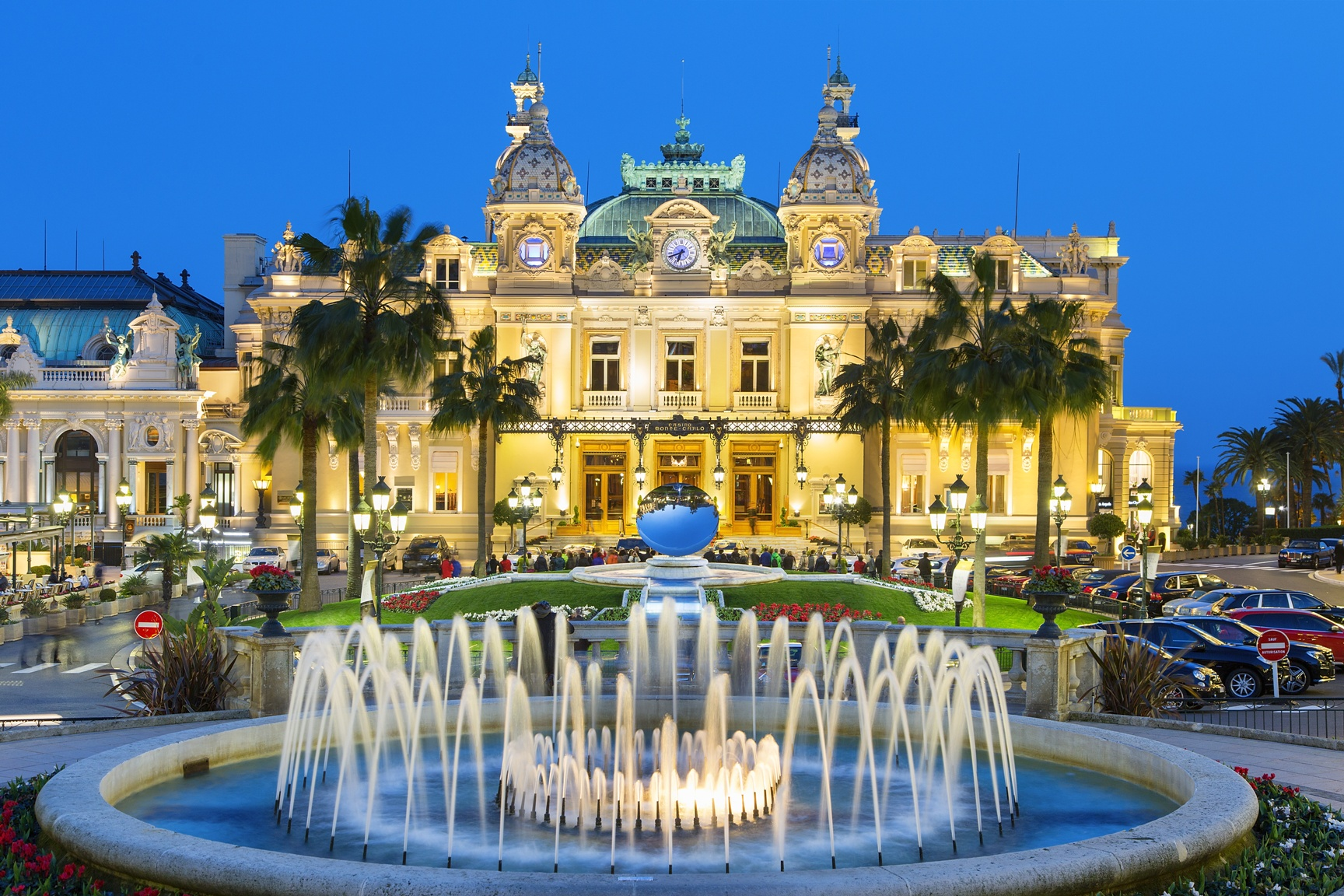 Casino Monte Carlo am Abend
