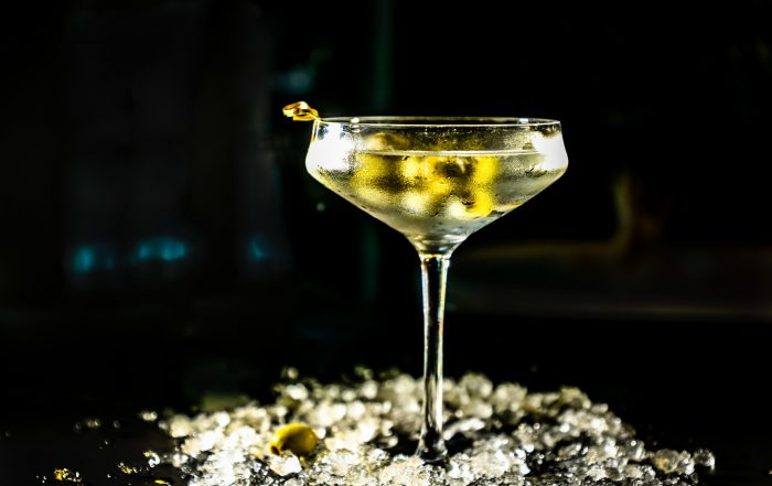 Cocktail vodka Martini vermouth James bond