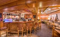 Hotelbar in der Alpenrose