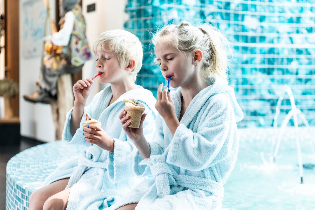 Kinder im Hotel Alpenrose