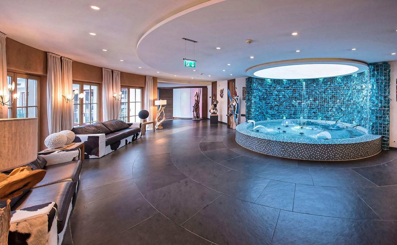 Lobbybrunnen in der Alpenrose