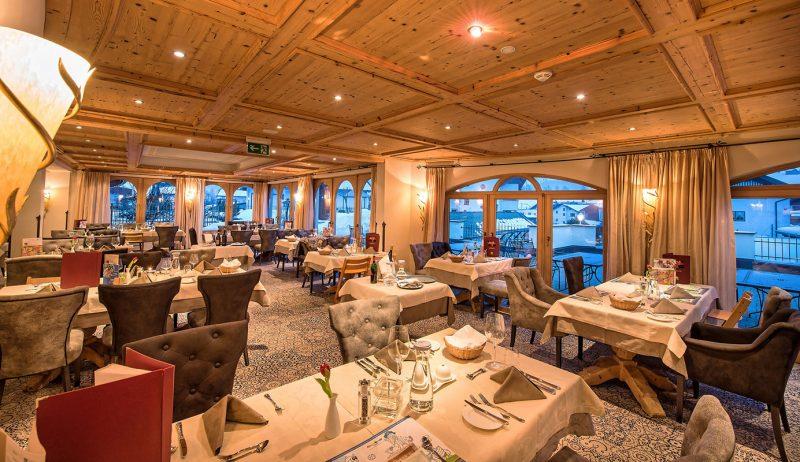 Restaurant im Hotel Alpenrose