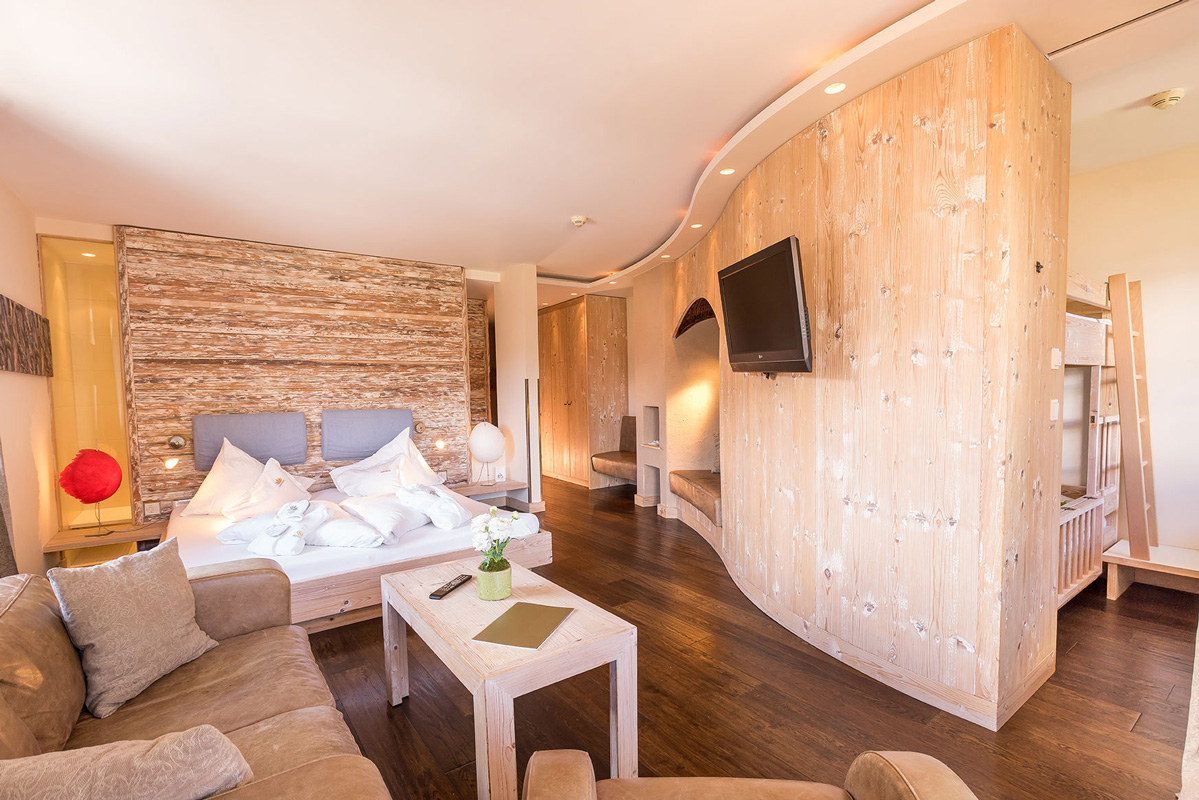 Zimmeransicht Hotel Alpenrose