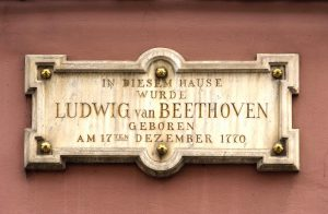 Gedenktafel am Beethoven-Haus