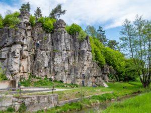 Felslandschaft in der Fränkischen Schweiz