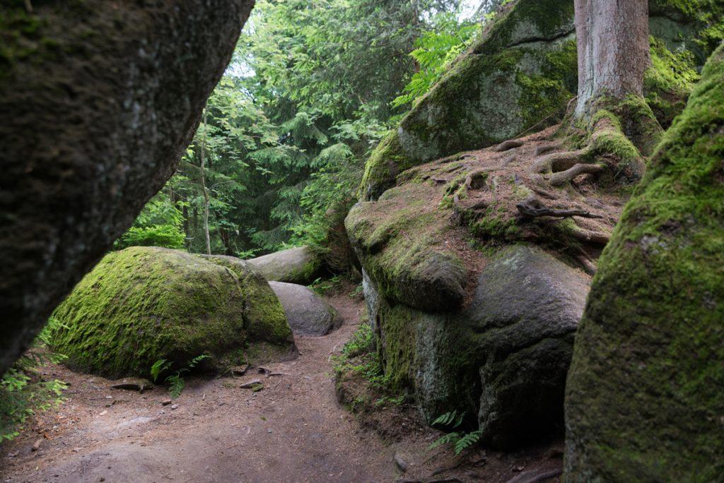 Felsenlabyrinth Luisenburg im Fichtelgebirge