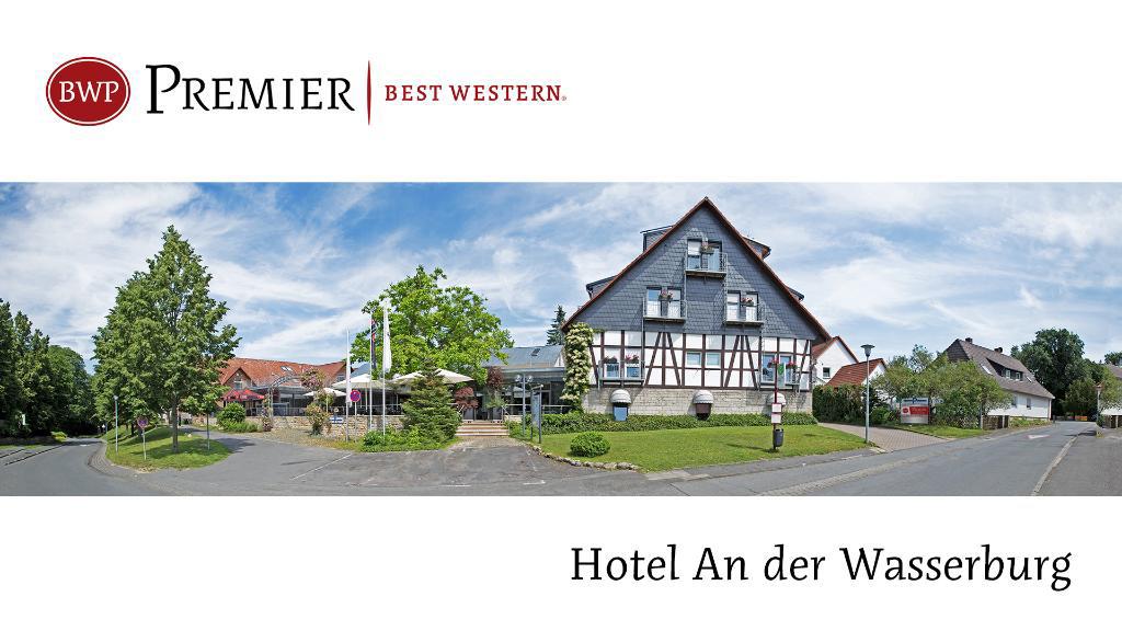 Außenansicht, Hotel an der Wasserburg