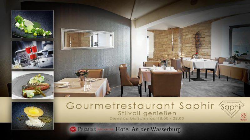 Restaurant Saphir, Hotel an der Wasserburg