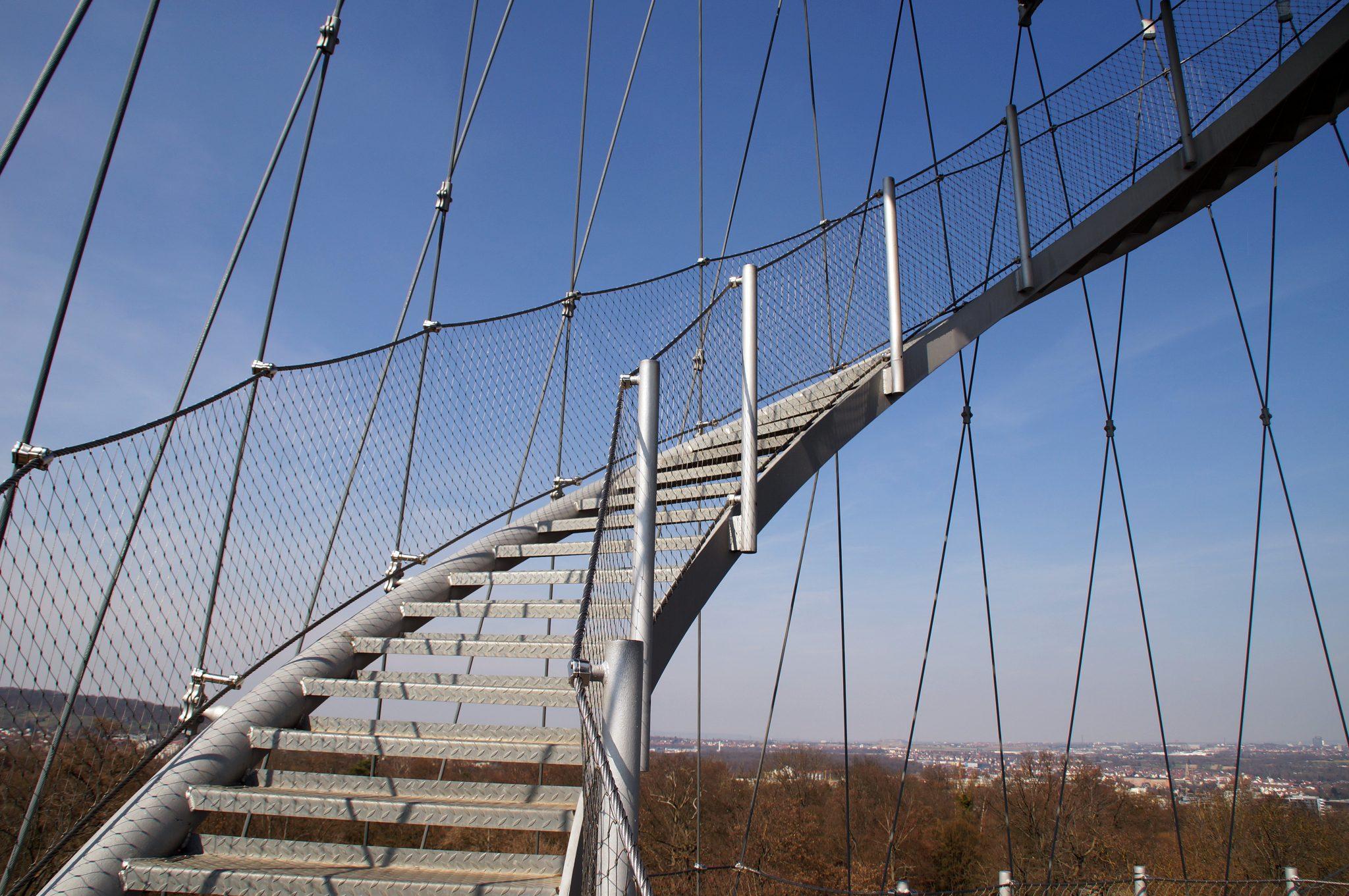 Aussichtsturm des Killesberg Parks in Stuttgart