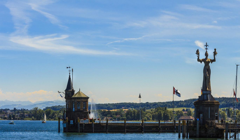 Blick auf Konstanz - Bodensee