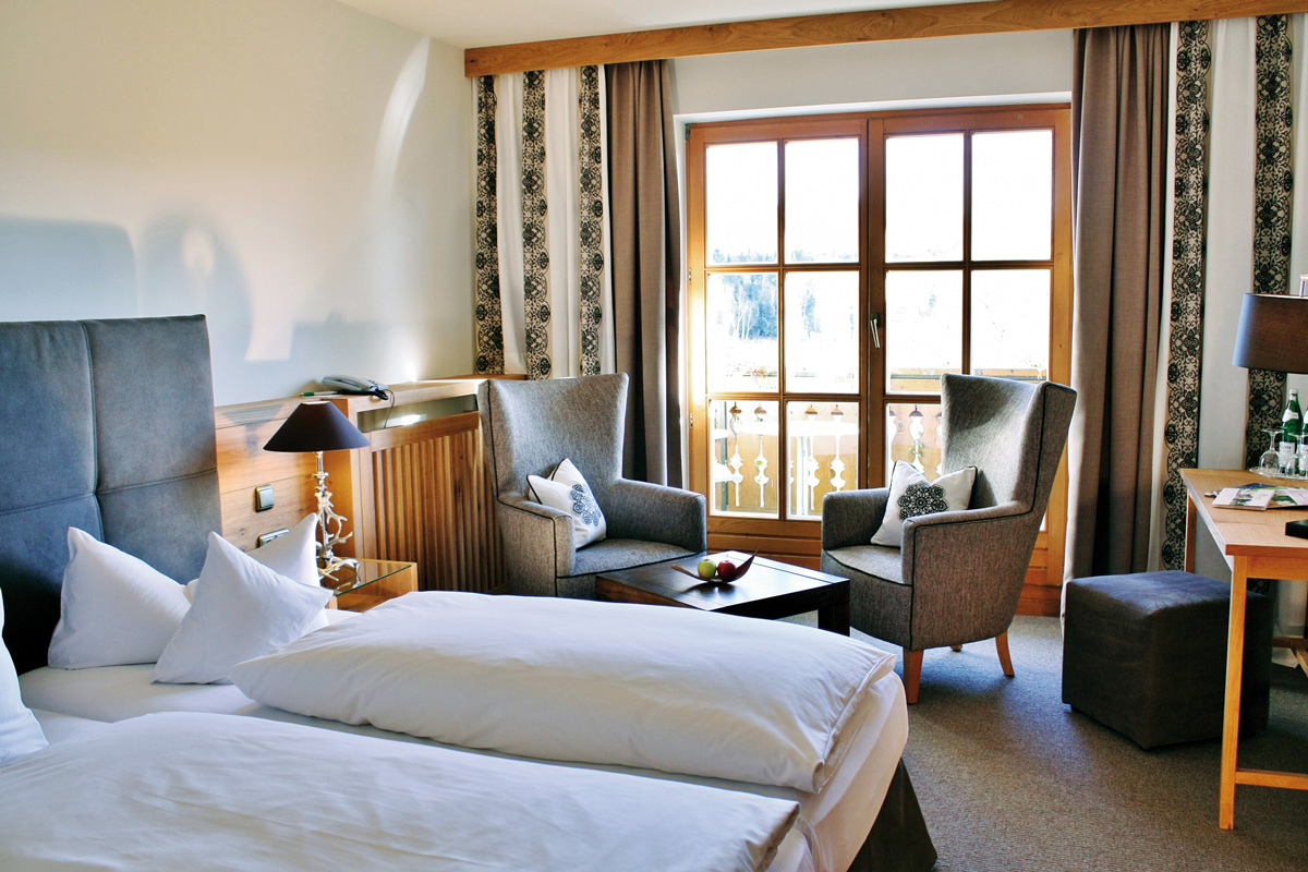 Landhauszimmer, Parkhotel am Soier See