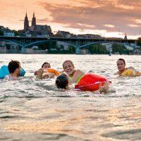 Rheinschwimmen Basel