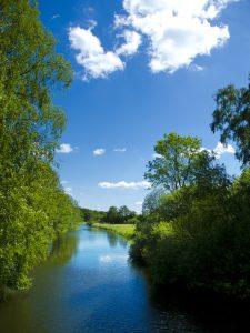 Sommer an der Eider - Eidertal-Wanderweg