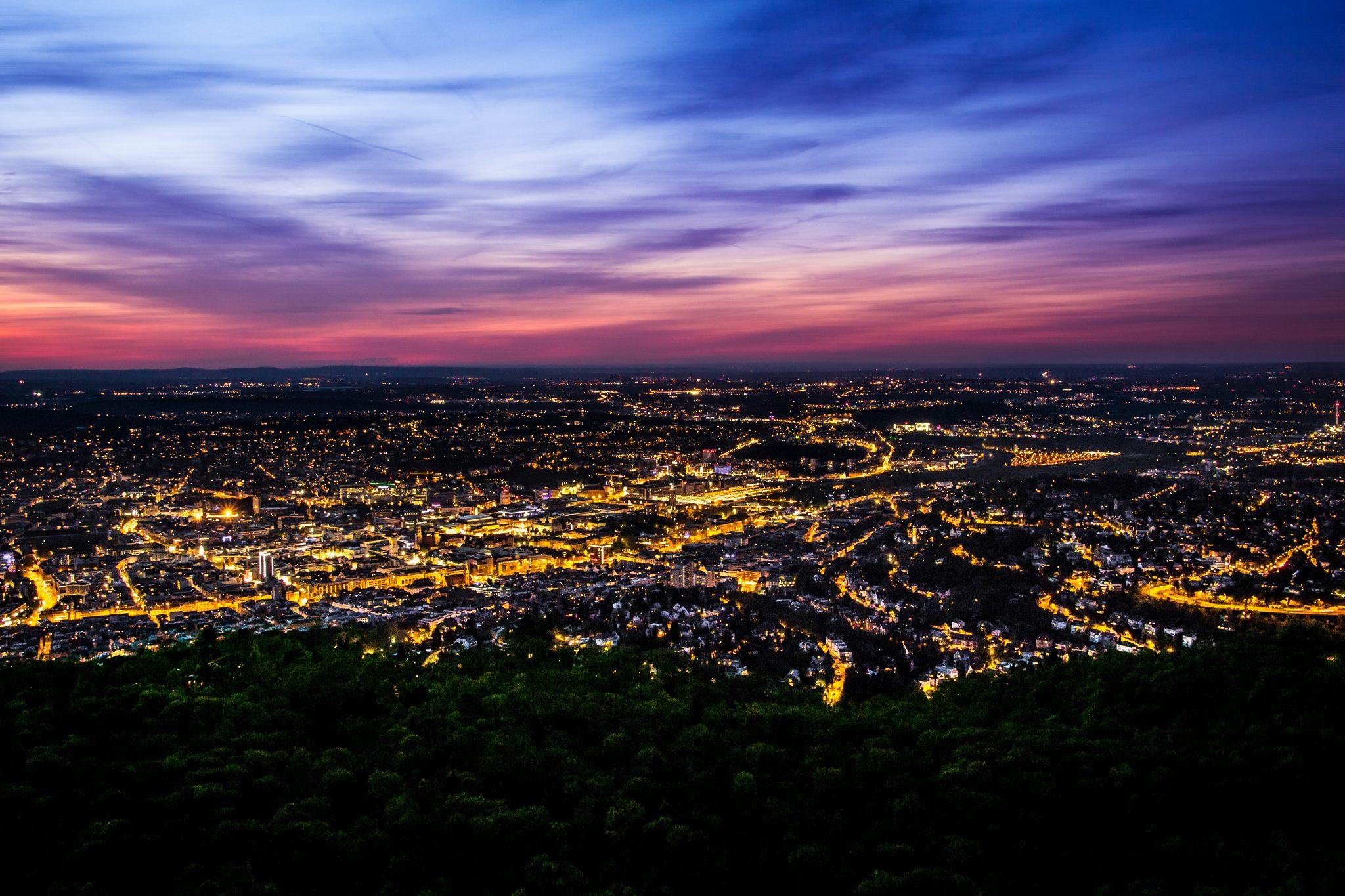 Stuttgart vom Fernsehturm