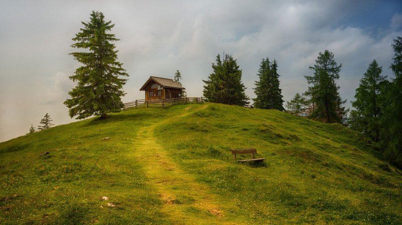 Berghütte Schweiz