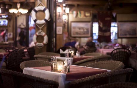 Gemütliches Restaurant-Café im maritimen Stil