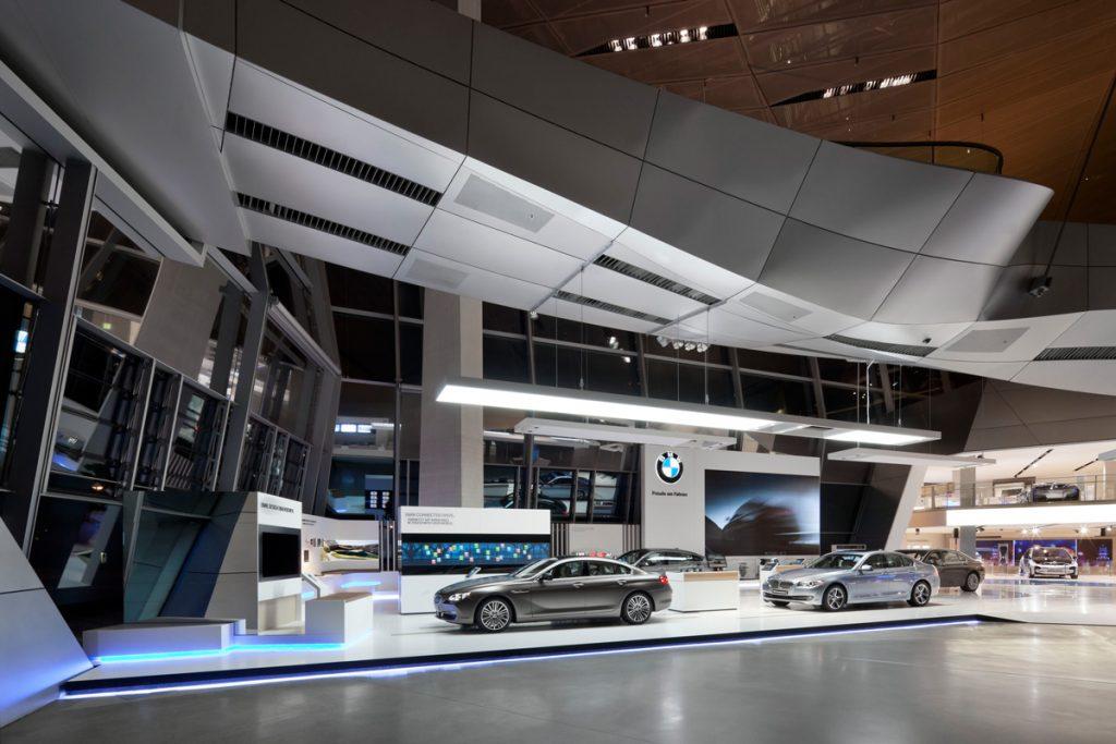 Automobil-Ausstellung in der BMW Welt