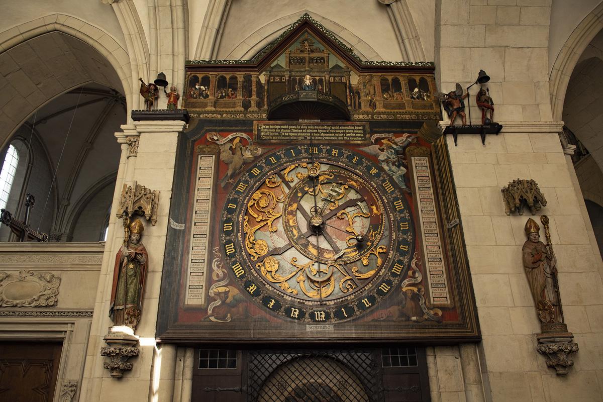 Astronomische Uhr im Dom St. Paulus, Münster