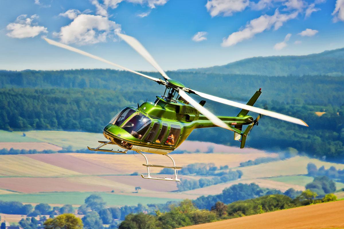 Hubschrauber Rundflug - DümmerWeserLand
