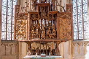 Riemenschneideraltar in der Kirche St. Jakob, Rothenburg ob der Tauber