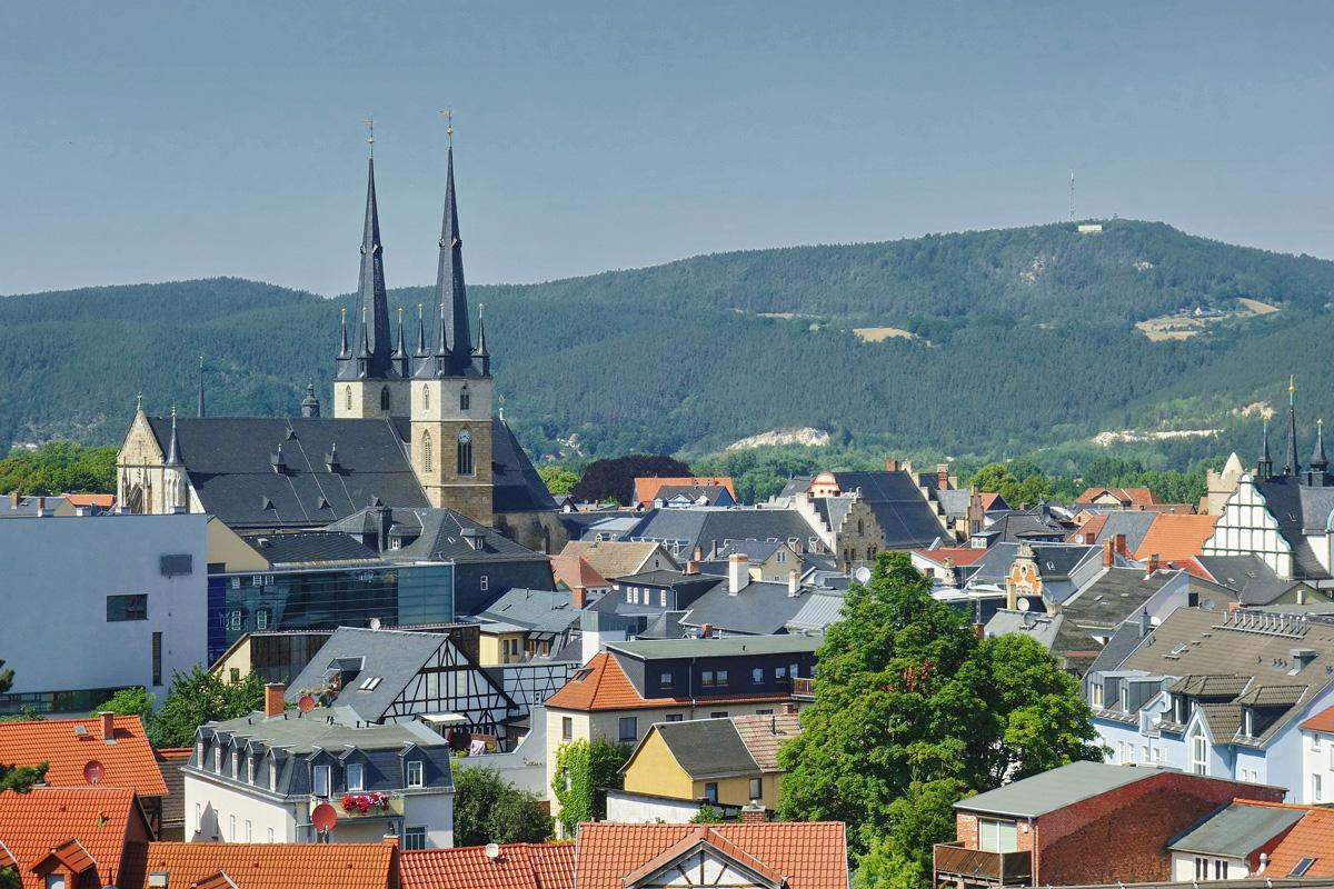 Saalfeld in Thüringen