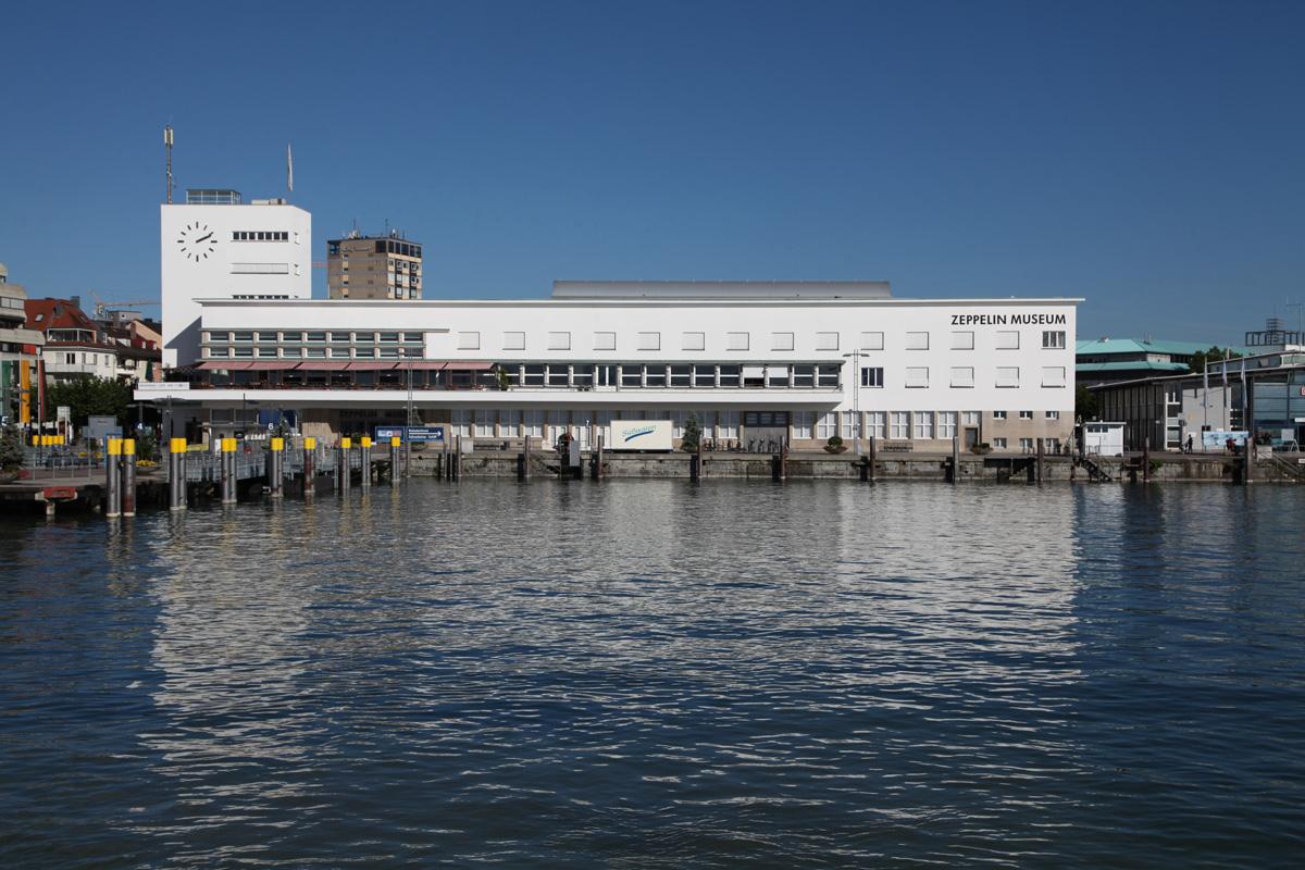 Außenansicht, 2015, Zeppelin Museum