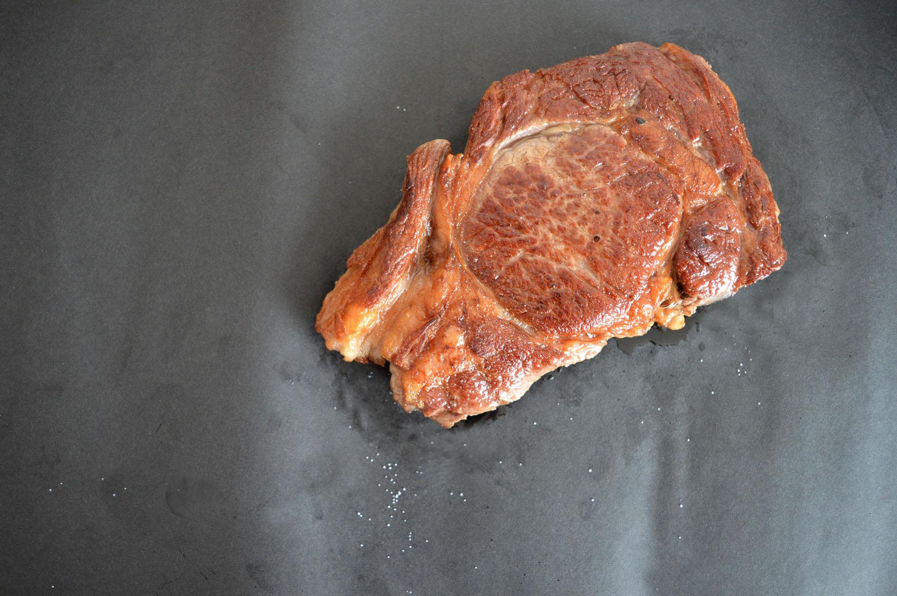 Ribeye Steak gegrillt
