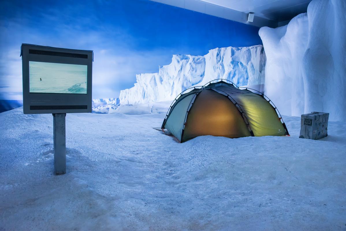 Antarktis Zelt, Klimahaus Bremerhaven