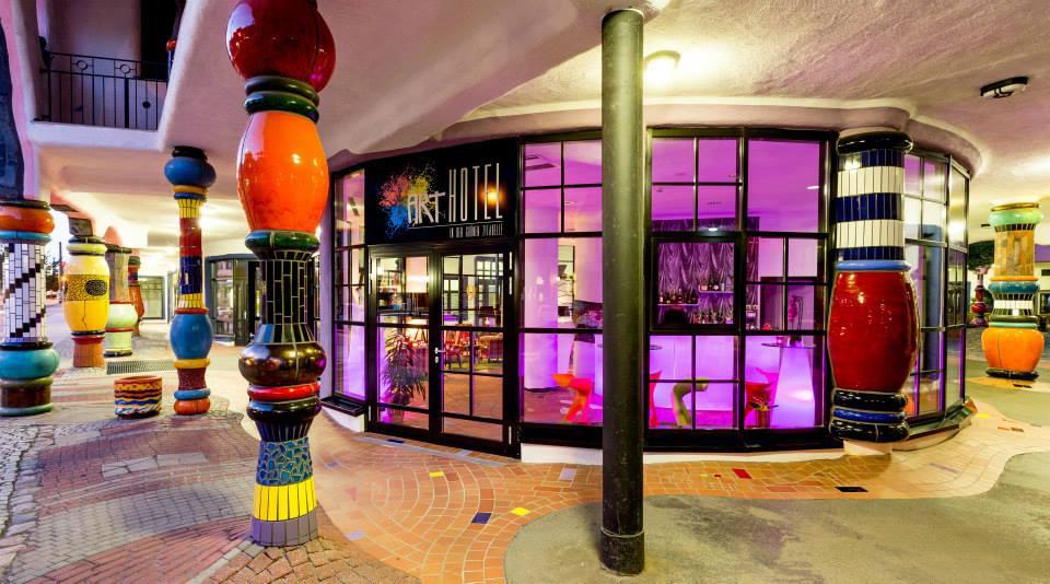 Eingang artHOTEL Magdeburg
