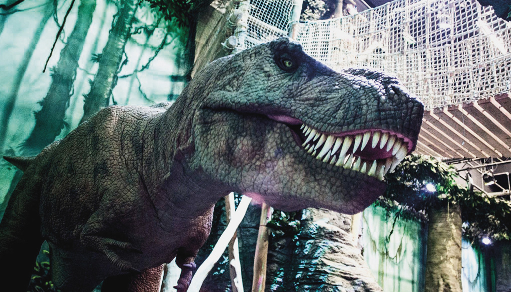 "Tyrannosaurus Rex im Themenbereich ""Leben"", Odysseum Köln"