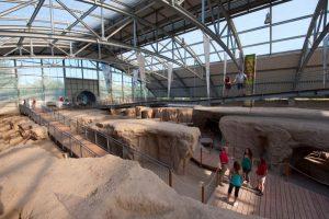 Römerbergwerk Meurin, Ausstellung, Vulkanpark Eifel