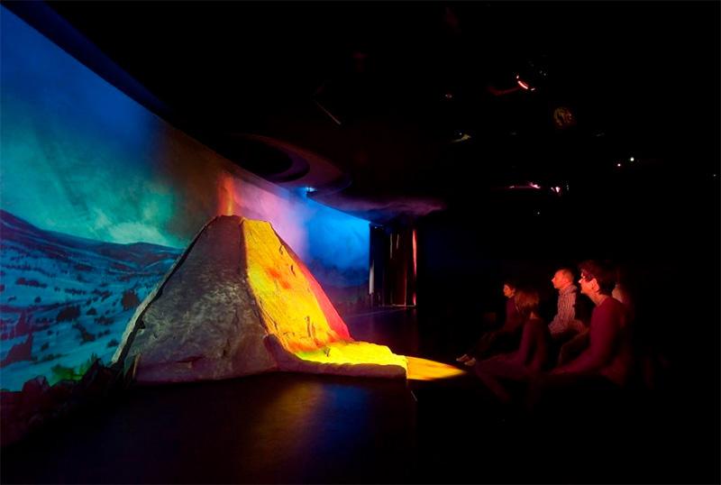 Main Show im Lava Dome, Vulkanpark Eifel
