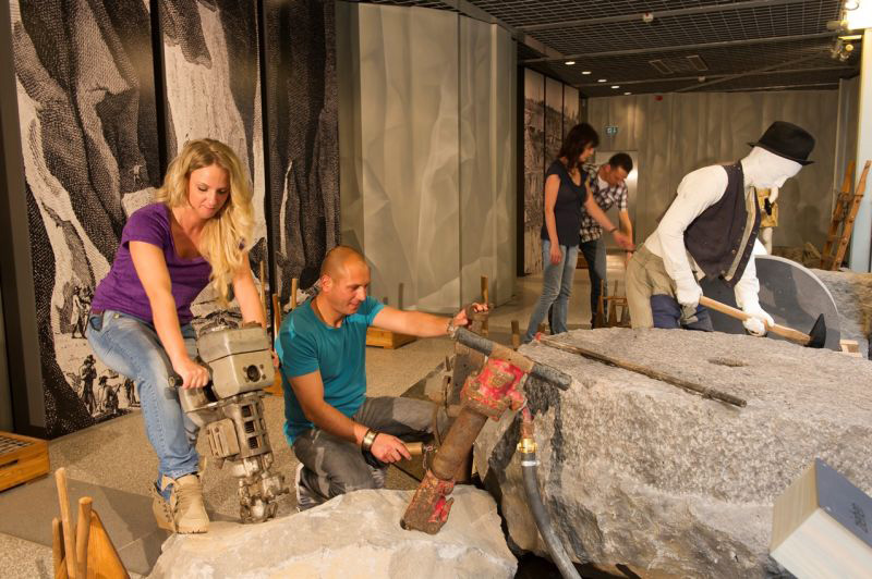 Terra Vulcania, Ausstellung, Vulkanpark Eifel