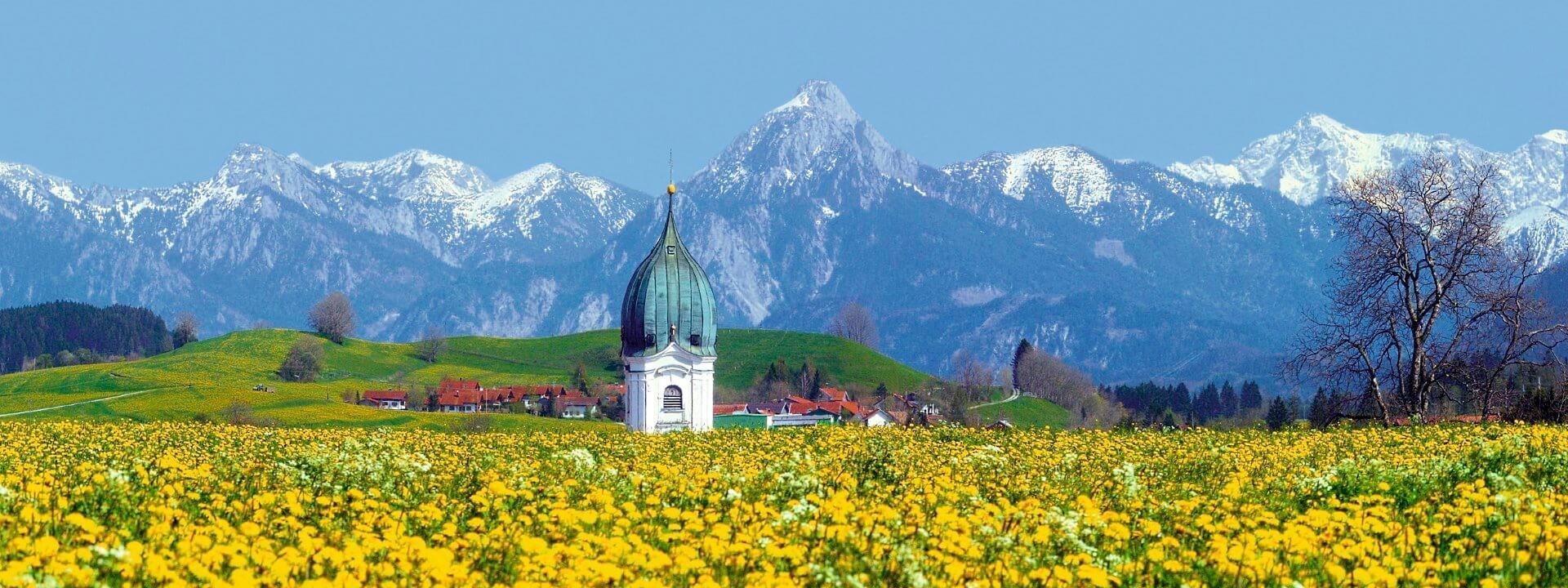 Frühling im Allgäu - Landhaus Ohnesorg