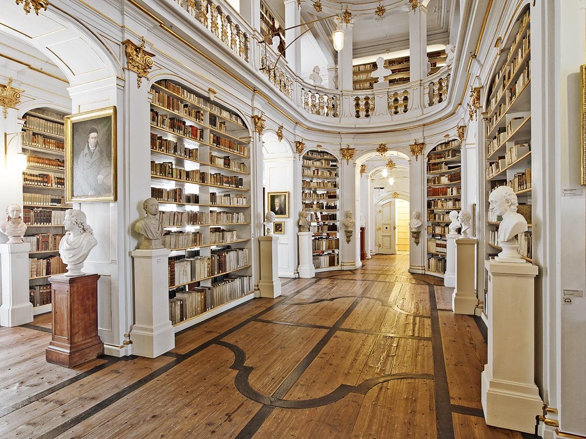 Herzogin Anna-Amalia Bibliothek in Weimar