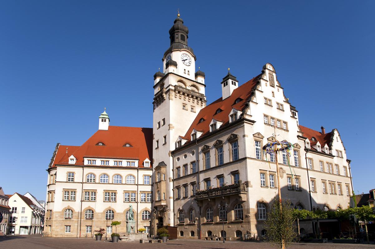Rathaus Döbeln - Mulderadweg