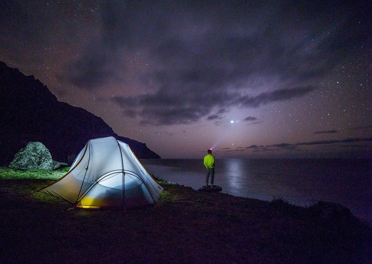 Campen unterm Sternenhimmel