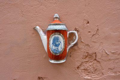 Kaffeekannen-Kunst